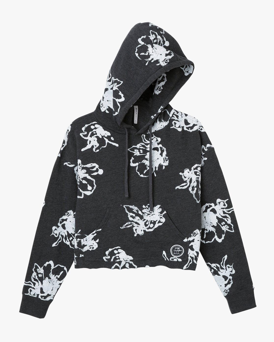 5 Sage Vaughn Floral - Hoodie for Women Grey N3HORARVP9 RVCA