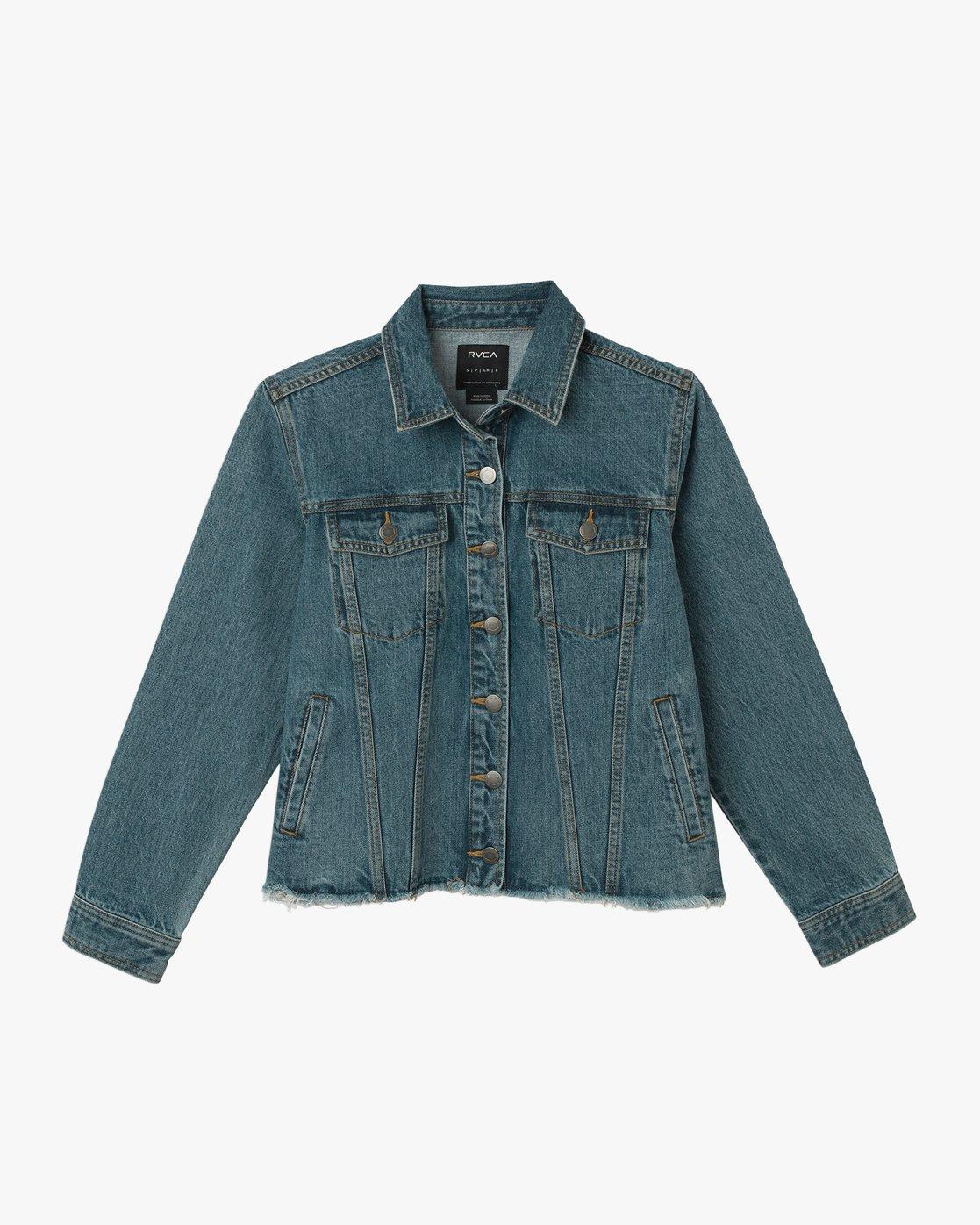 5 Pause It - Jacket for Women Blue N3JKRCRVP9 RVCA