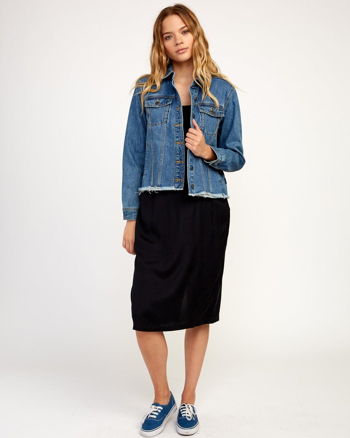 4 Pause It - Jacket for Women Blue N3JKRCRVP9 RVCA