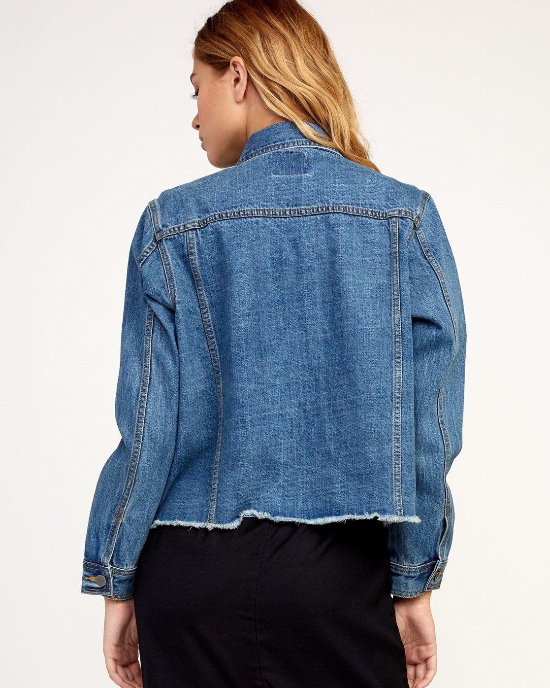 2 Pause It - Jacket for Women Blue N3JKRCRVP9 RVCA