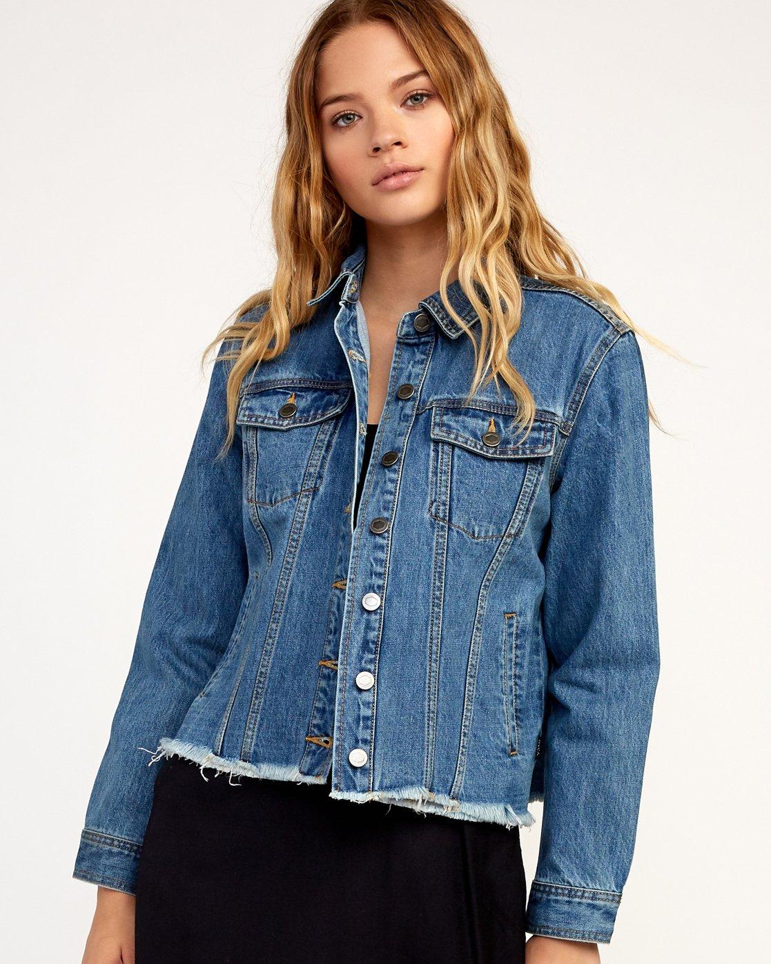 0 Pause It - Jacket for Women Blue N3JKRCRVP9 RVCA
