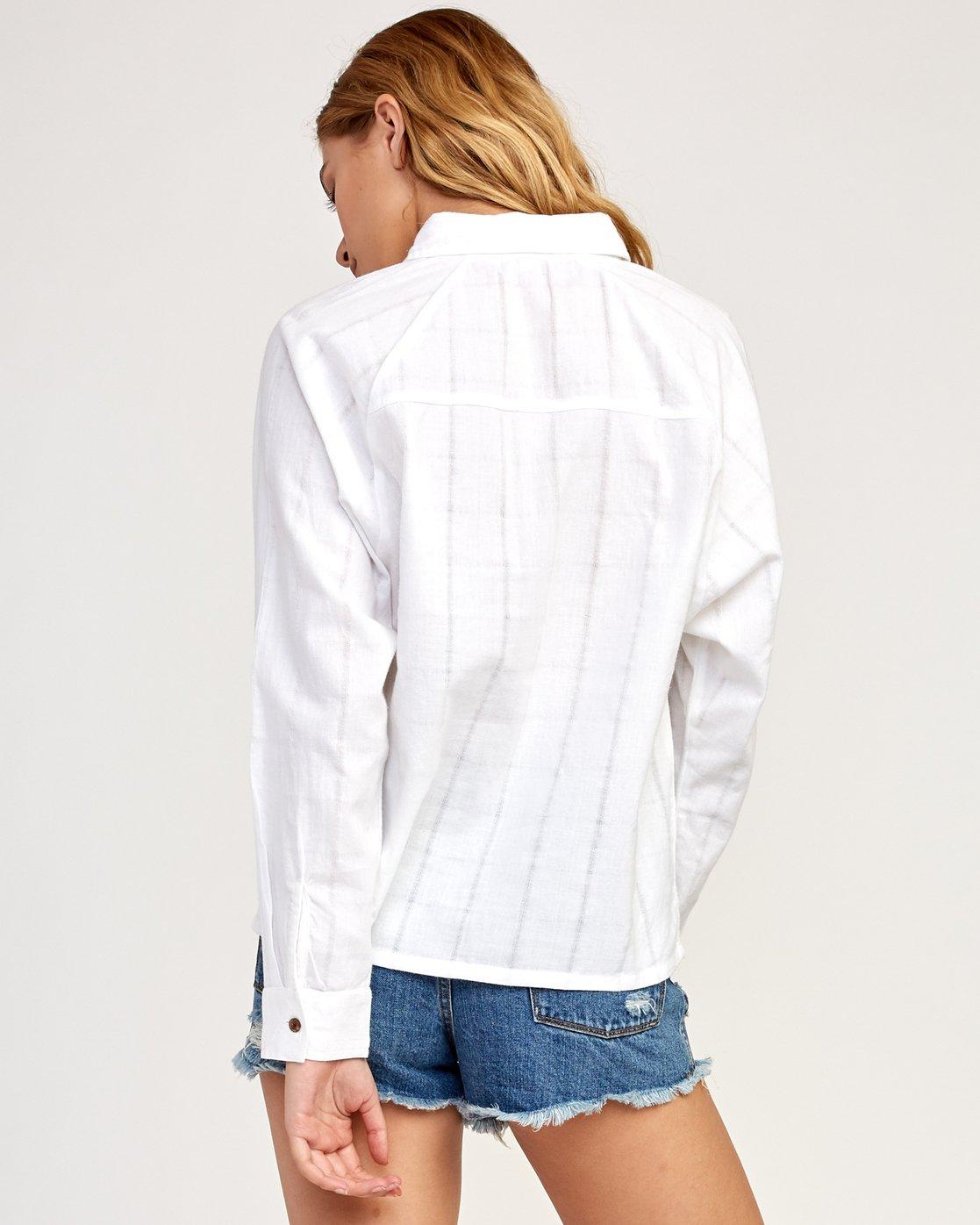 3 Winging It - Shirt for Women White N3SHRDRVP9 RVCA