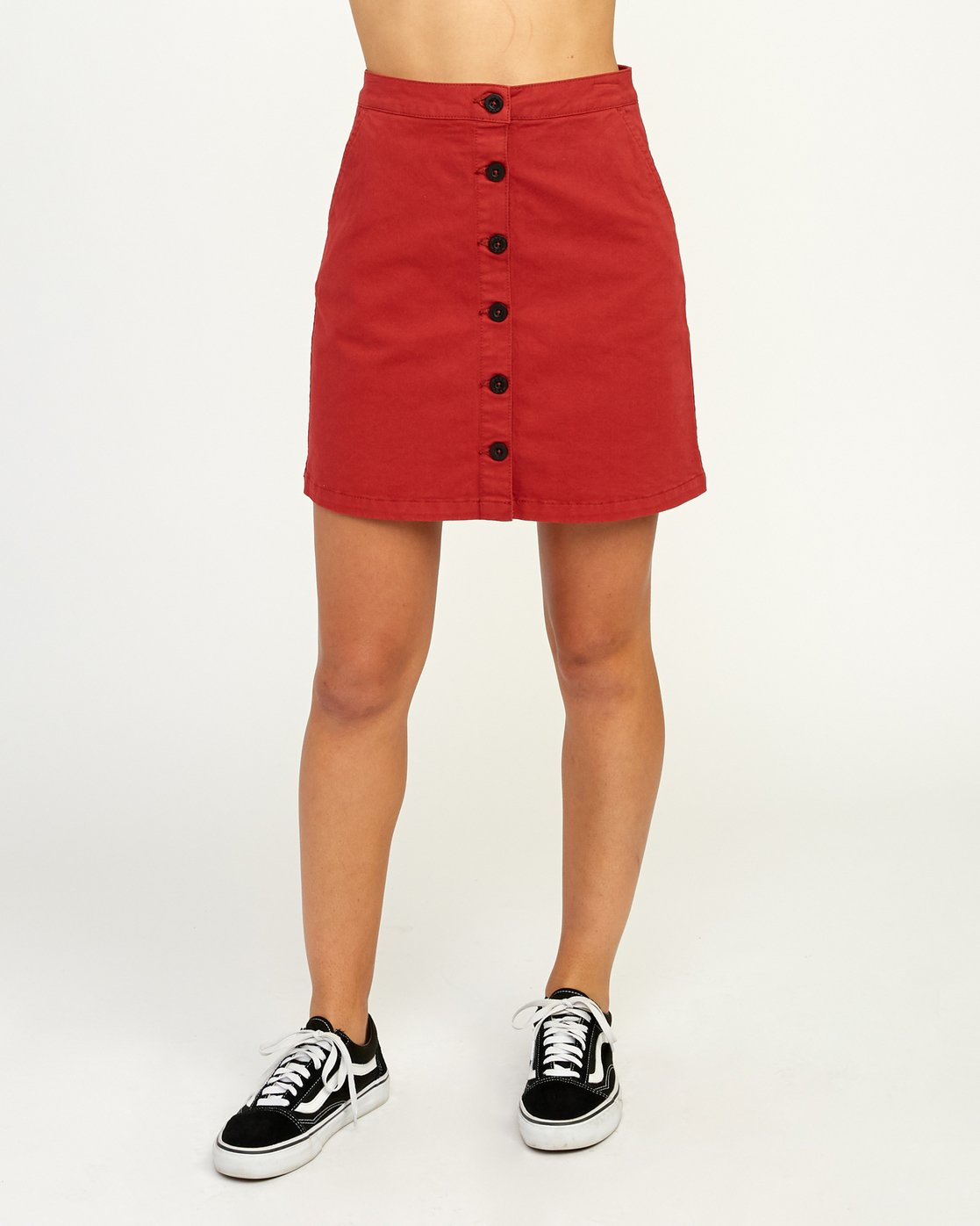 1 Promises Skirt Red N3SKRARVP9 RVCA
