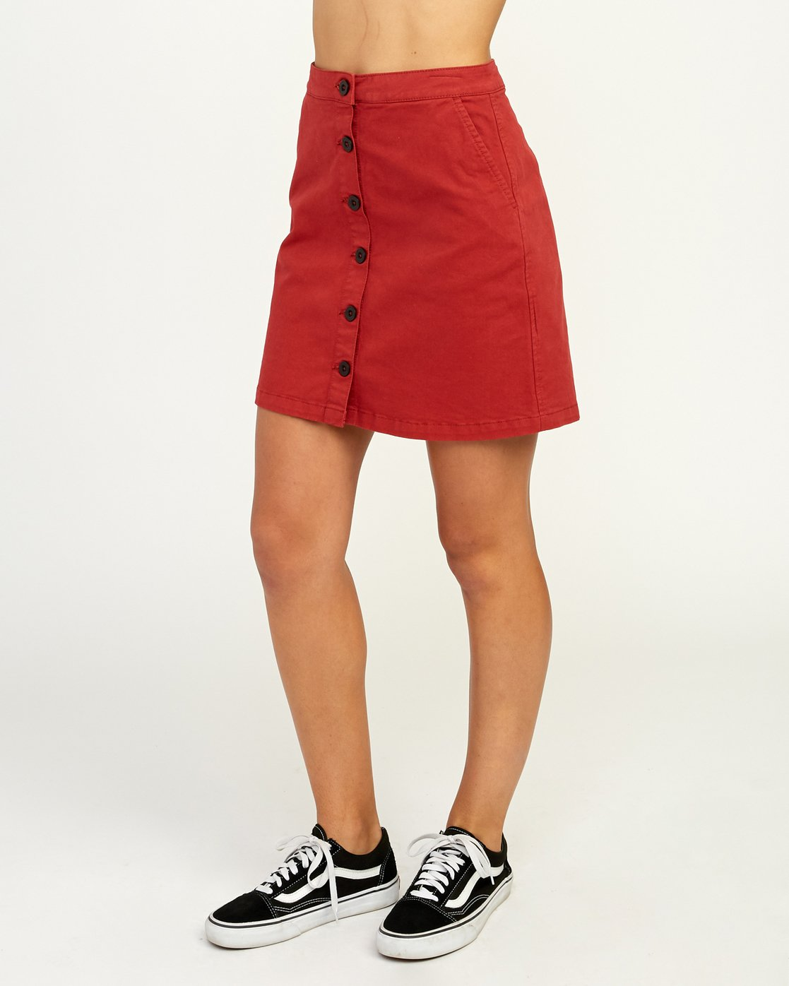 2 Promises Skirt Red N3SKRARVP9 RVCA
