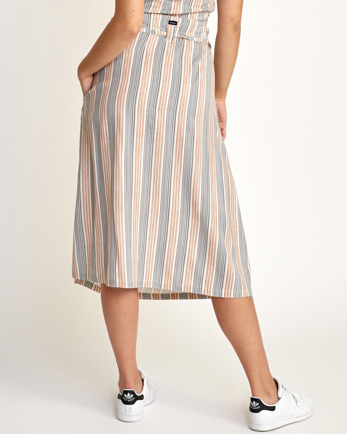 3 Oslo Skirt Beige N3SKRCRVP9 RVCA
