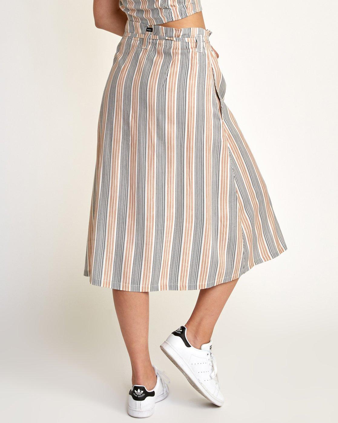 2 Oslo Skirt Beige N3SKRCRVP9 RVCA