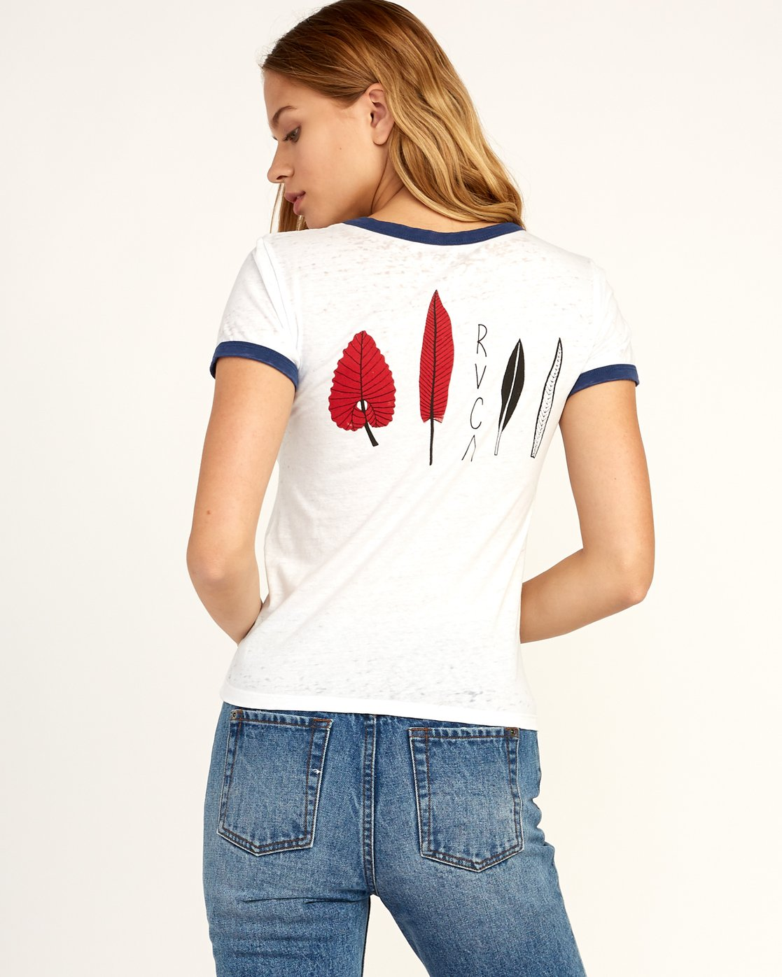 2 Tom Gerrard Foliage - T-Shirt for Women White N3SSRARVP9 RVCA