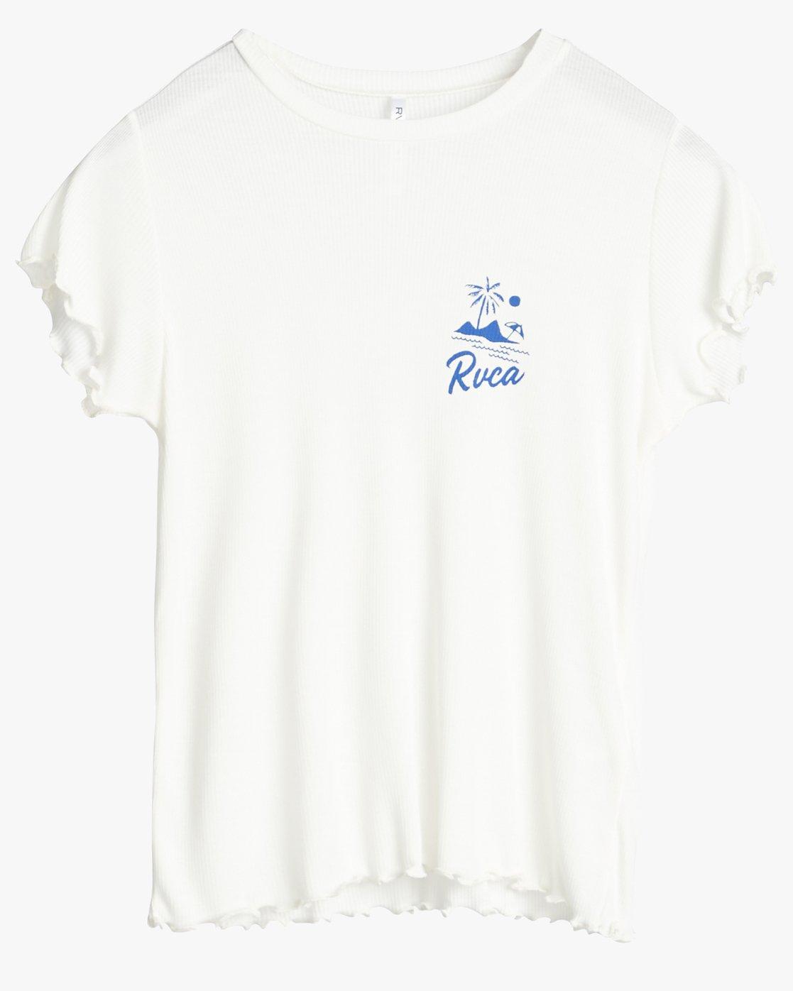 0 Mai Tai - T-shirt manches courtes pour Femme Blanc N3SSRURVP9 RVCA