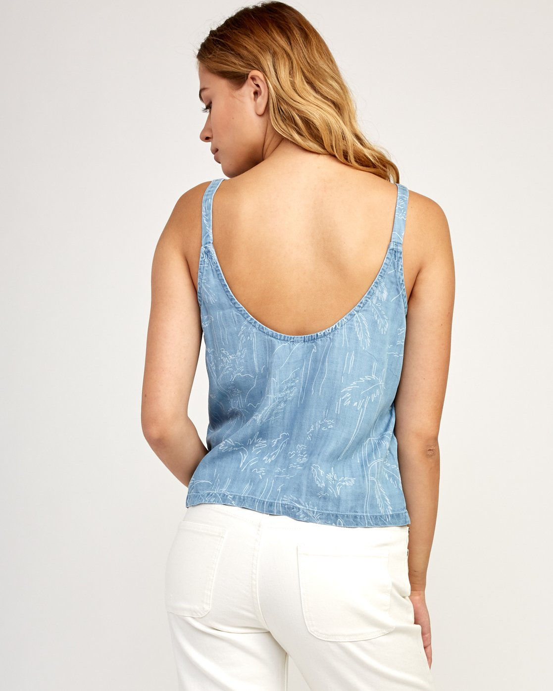 2 Collector - Tank Top for Women Blue N3TPRARVP9 RVCA