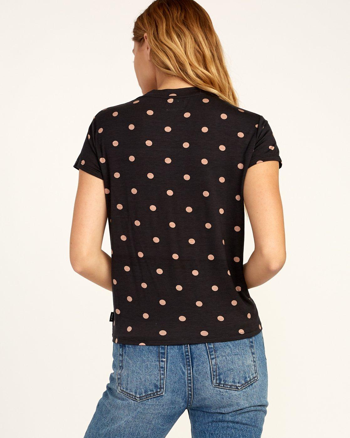 2 Suspension Soft Knit T-Shirt Black N3TPRNRVP9 RVCA