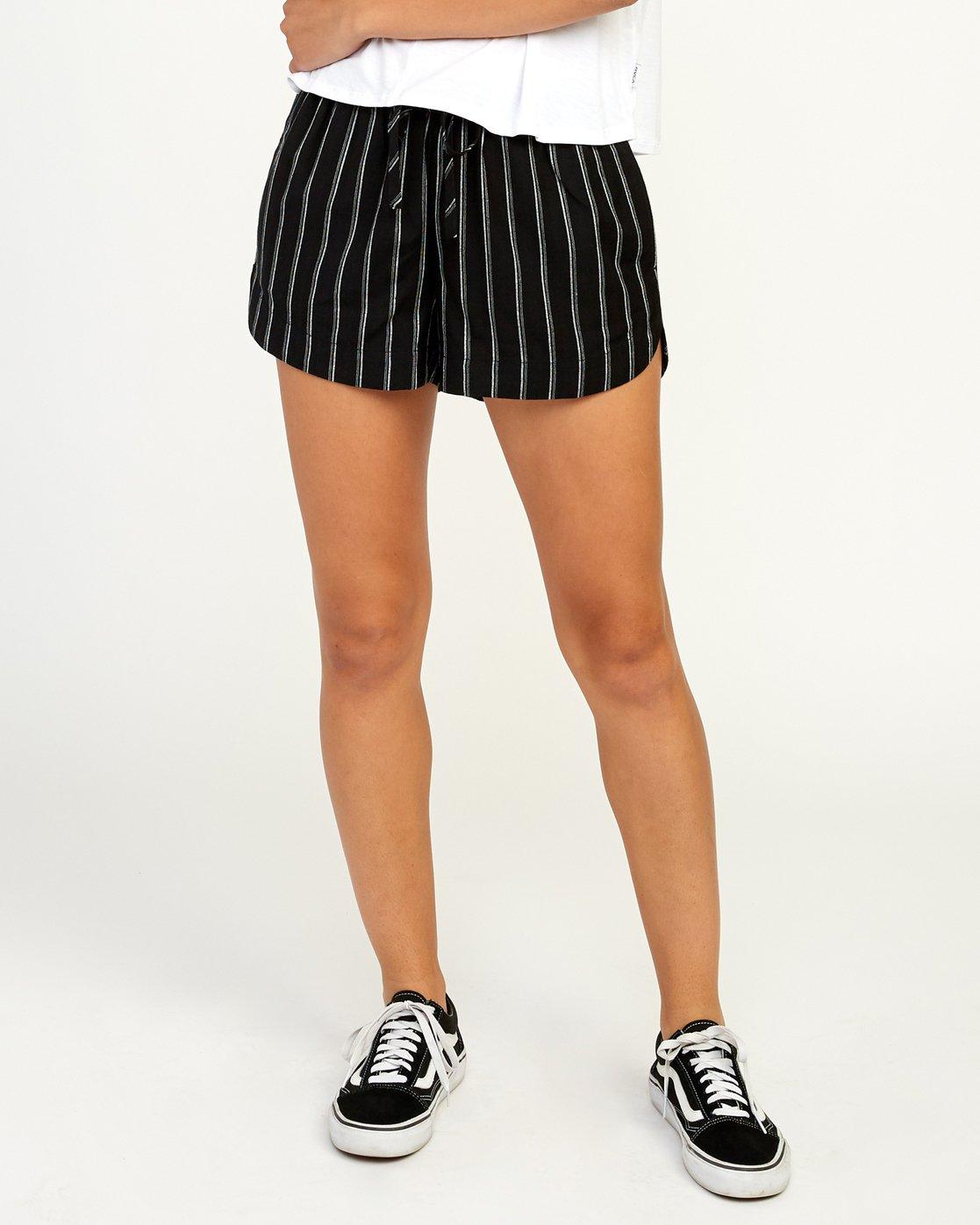 0 New Yume - Short pour Femme Noir N3WKRYRVP9 RVCA