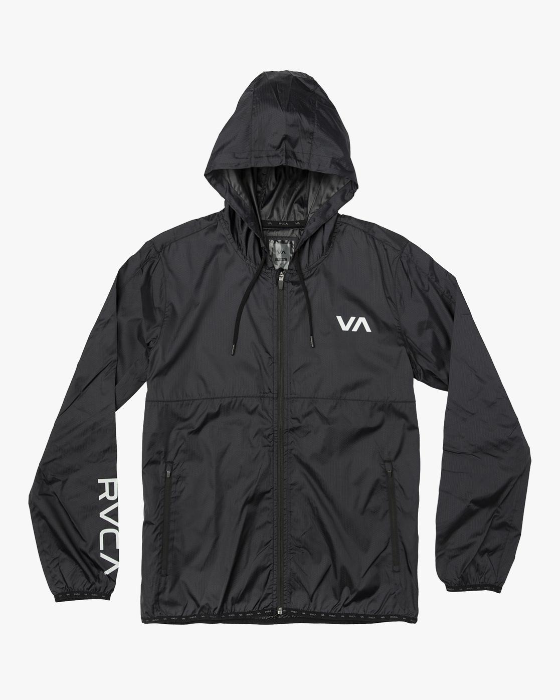 0 Hexstop Iv - Jacket for Men Black N4JKMBRVP9 RVCA