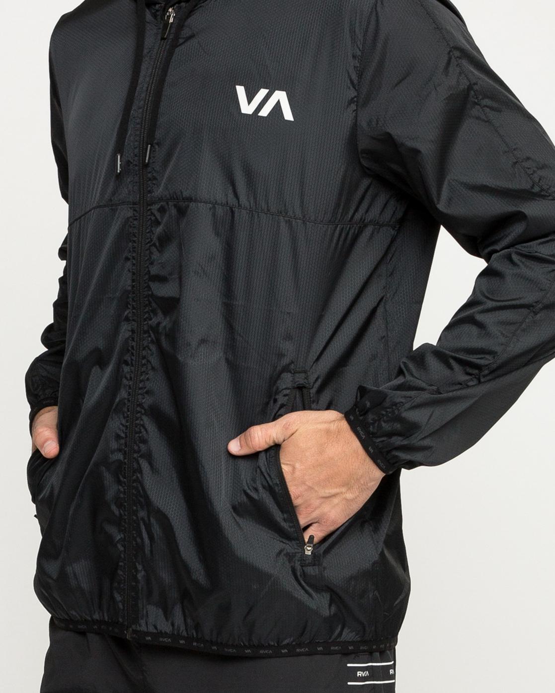 5 Hexstop Iv - Jacket for Men Black N4JKMBRVP9 RVCA
