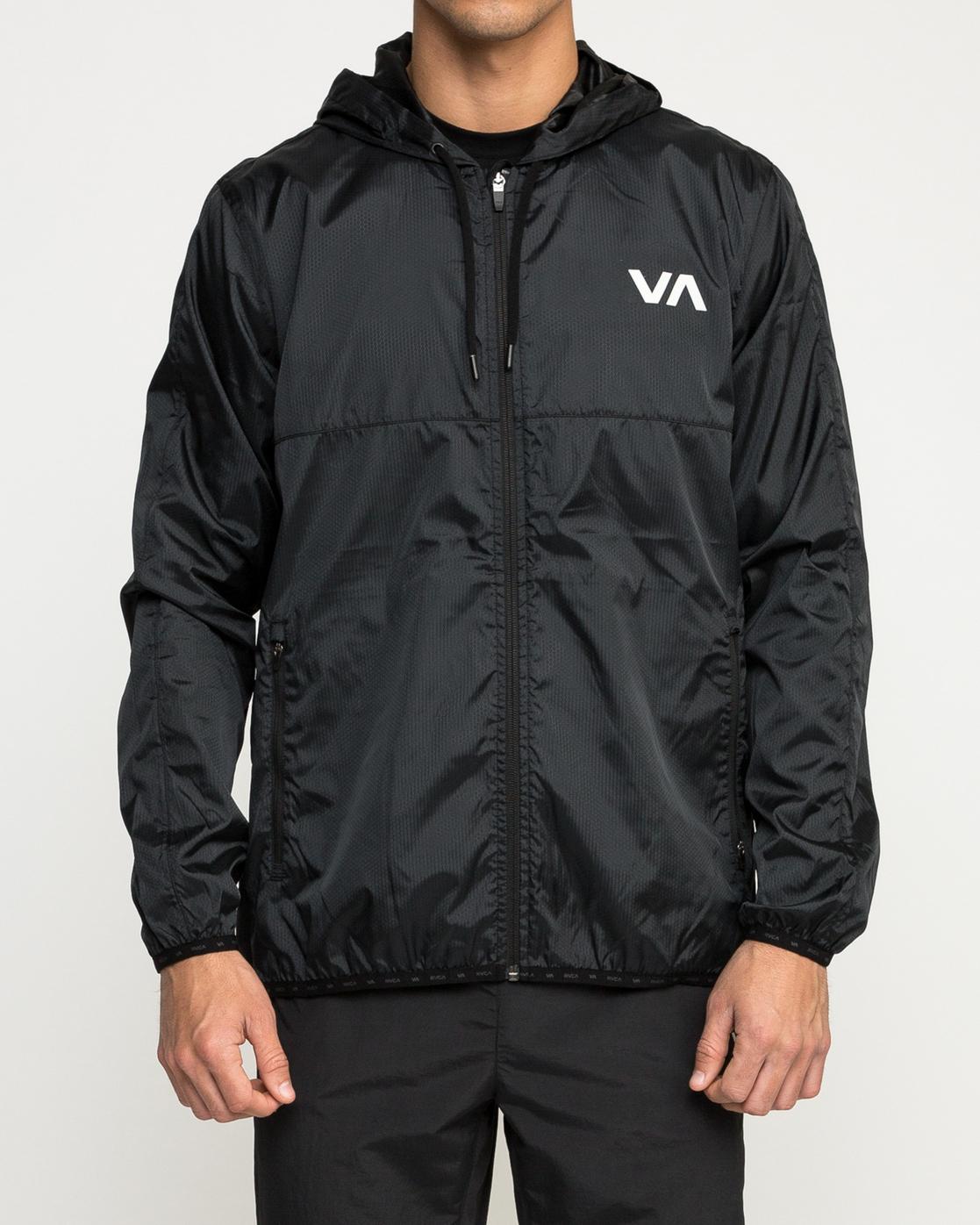 1 Hexstop Iv - Jacket for Men Black N4JKMBRVP9 RVCA