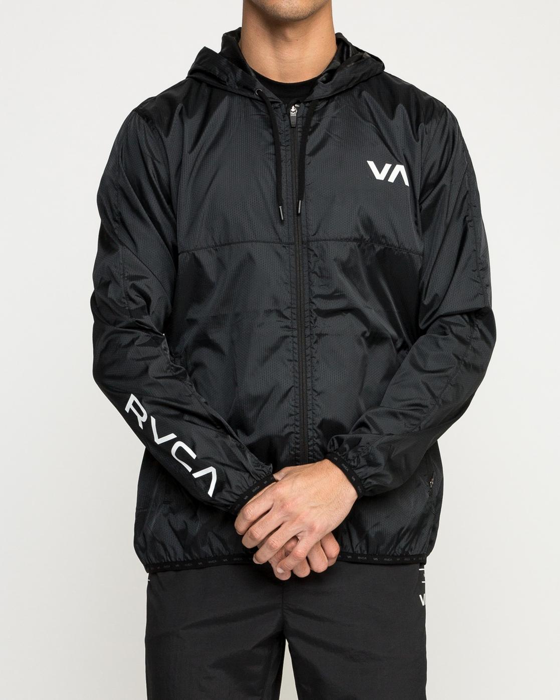 2 Hexstop Iv - Jacket for Men Black N4JKMBRVP9 RVCA