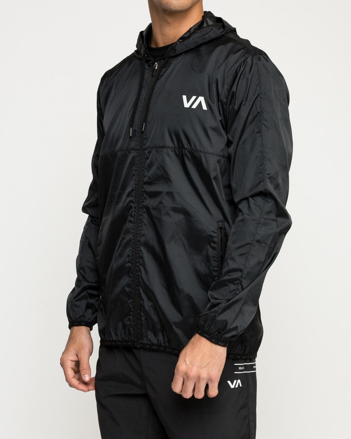 3 Hexstop Iv - Jacket for Men Black N4JKMBRVP9 RVCA