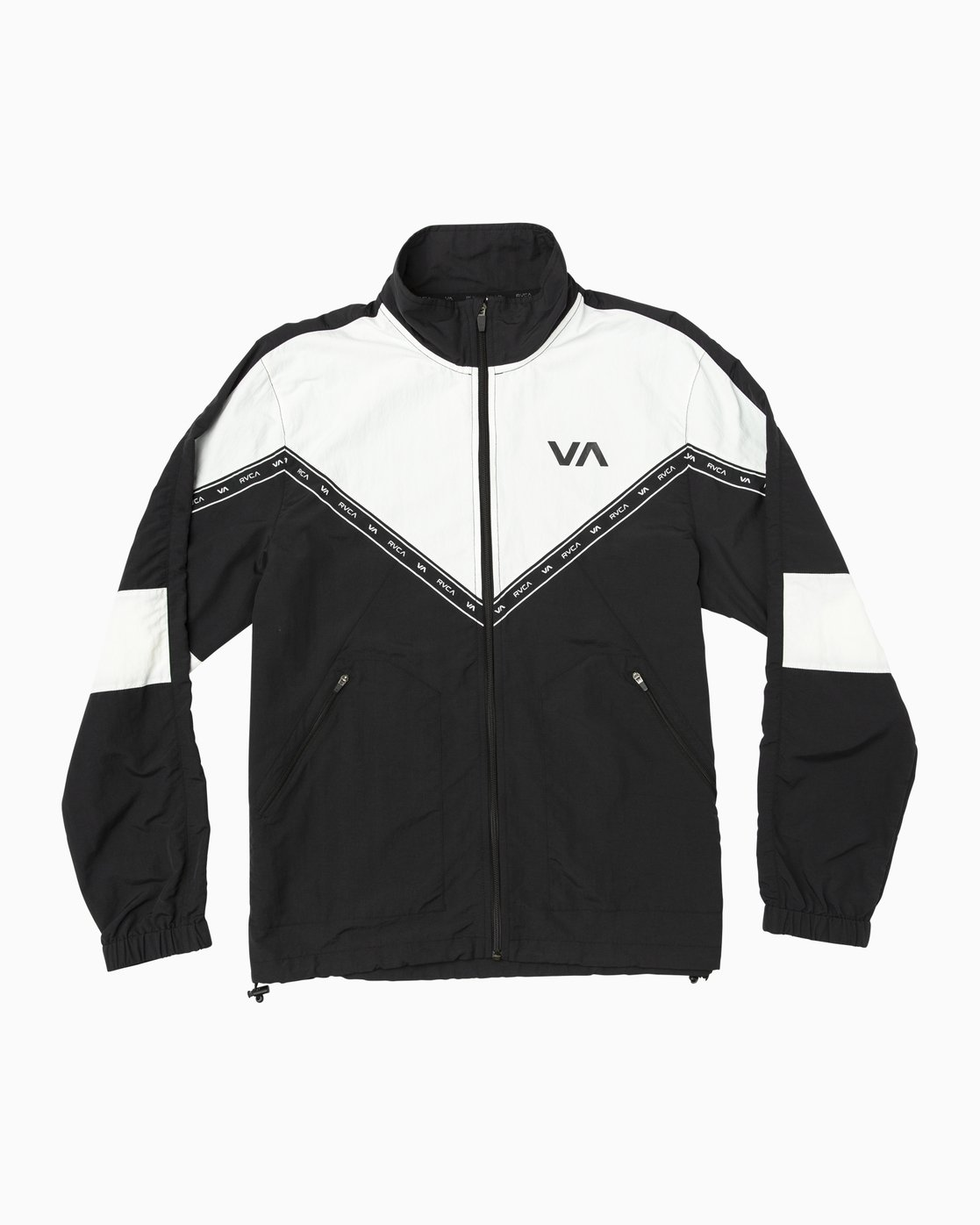 0 Control Track - Sports Jacket for Men Black N4JKMCRVP9 RVCA