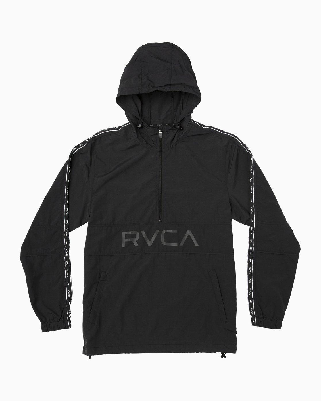 0 Adapter Anorak Jacket Black N4JKMDRVP9 RVCA