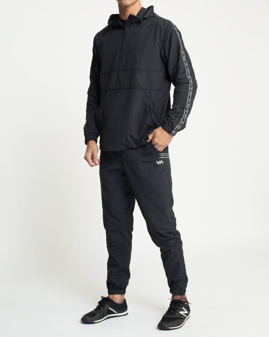 6 Adapter Anorak Jacket Black N4JKMDRVP9 RVCA
