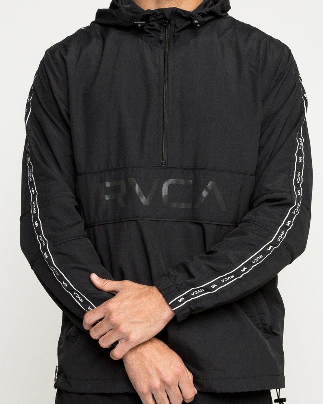 5 Adapter Anorak Jacket Black N4JKMDRVP9 RVCA