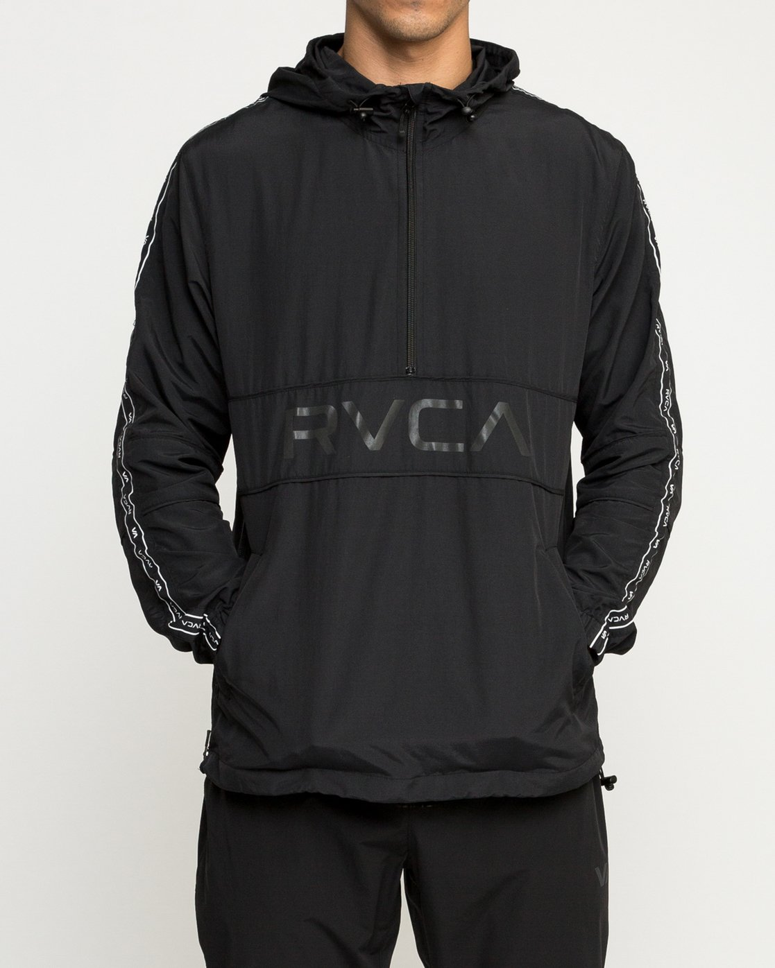 1 Adapter Anorak - Sports Jacket for Men Black N4JKMDRVP9 RVCA