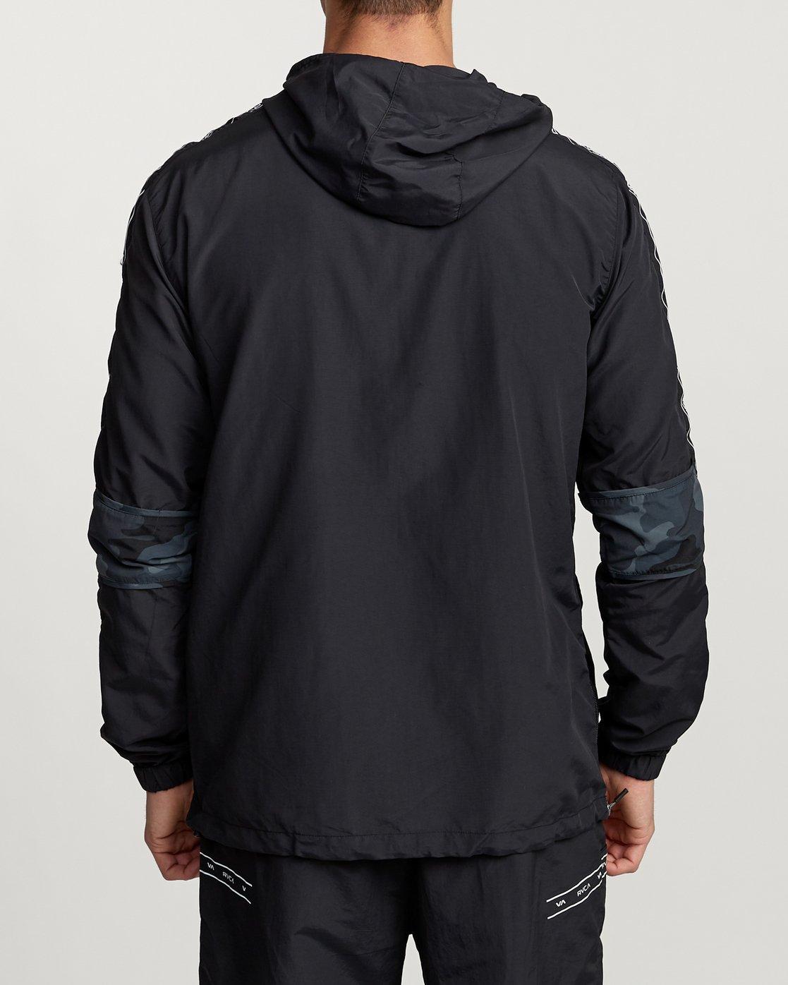 3 Adapter Anorak - Sports Jacket for Men Camo N4JKMDRVP9 RVCA
