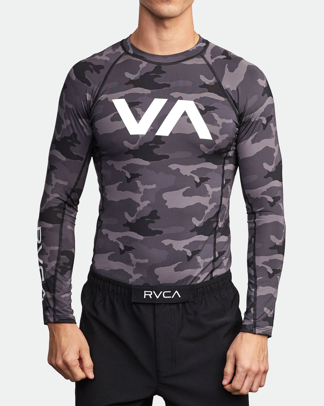 1 Sport Rashguard - Surf Tee manches longues pour Homme Camo N4MYRARVP9 RVCA