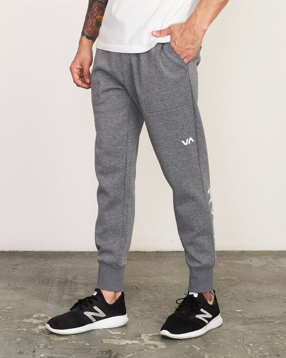 0 Sideline - Joggers for Men Grey N4PTMARVP9 RVCA
