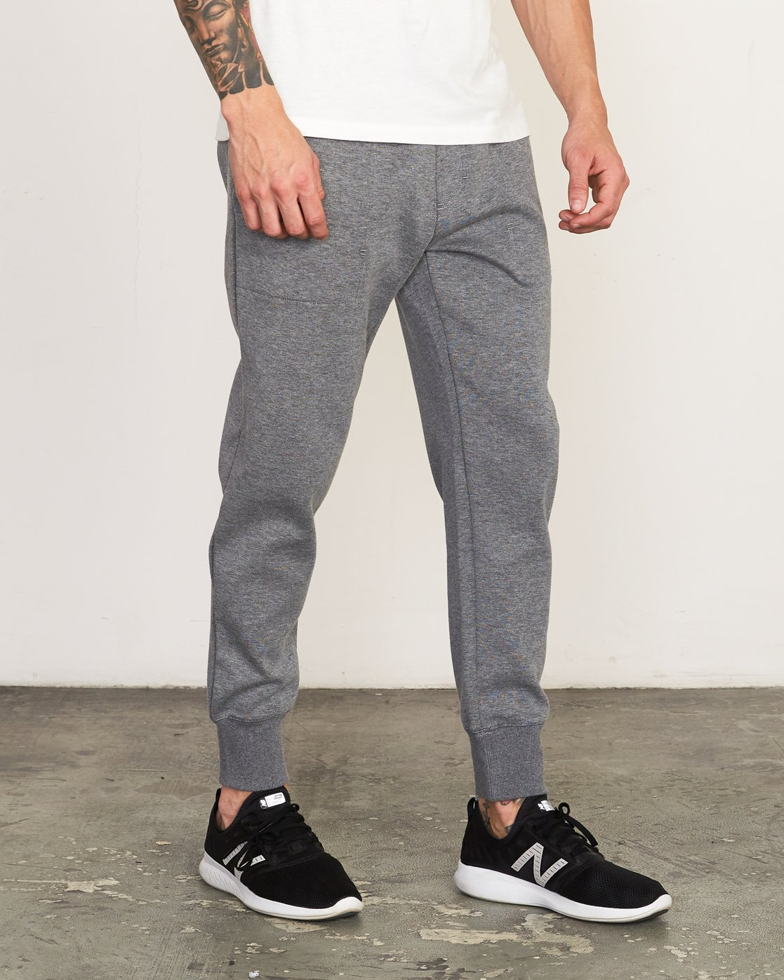 6 Sideline - Joggers for Men Grey N4PTMARVP9 RVCA
