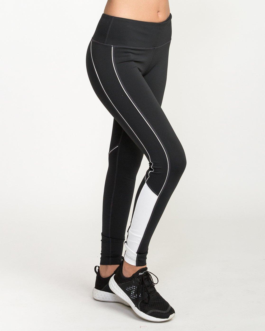 5 VA - Sports Legging for Women Schwarz N4PTWARVP9 RVCA