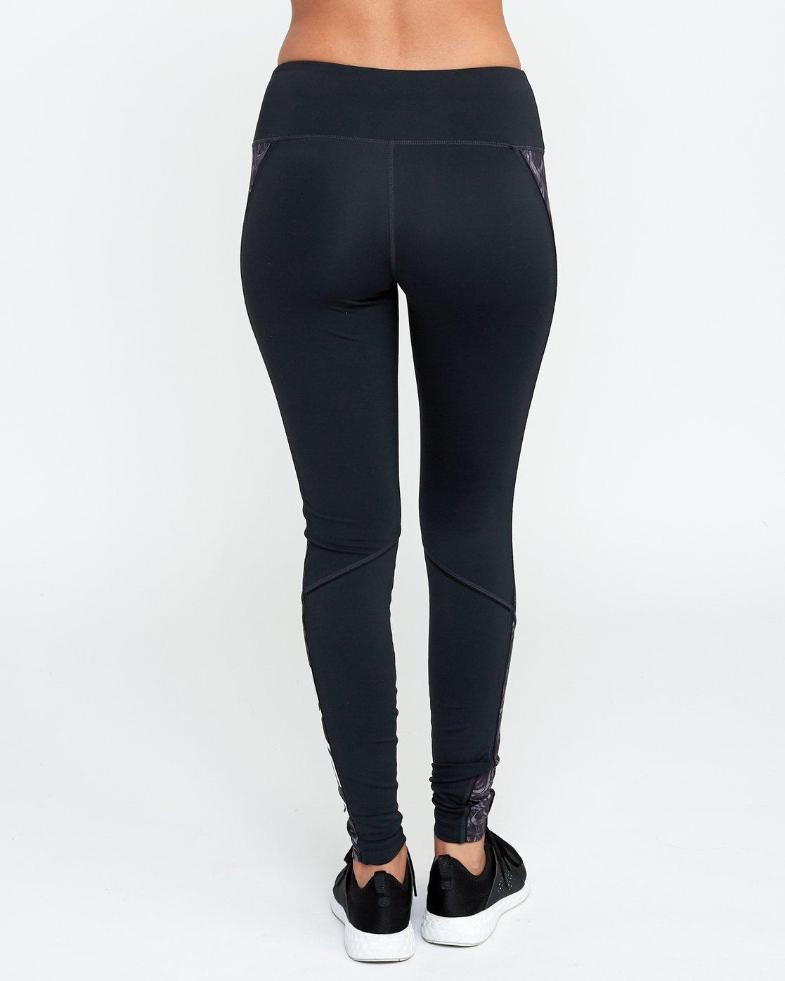 4 VA - Sports Legging for Women Grau N4PTWARVP9 RVCA