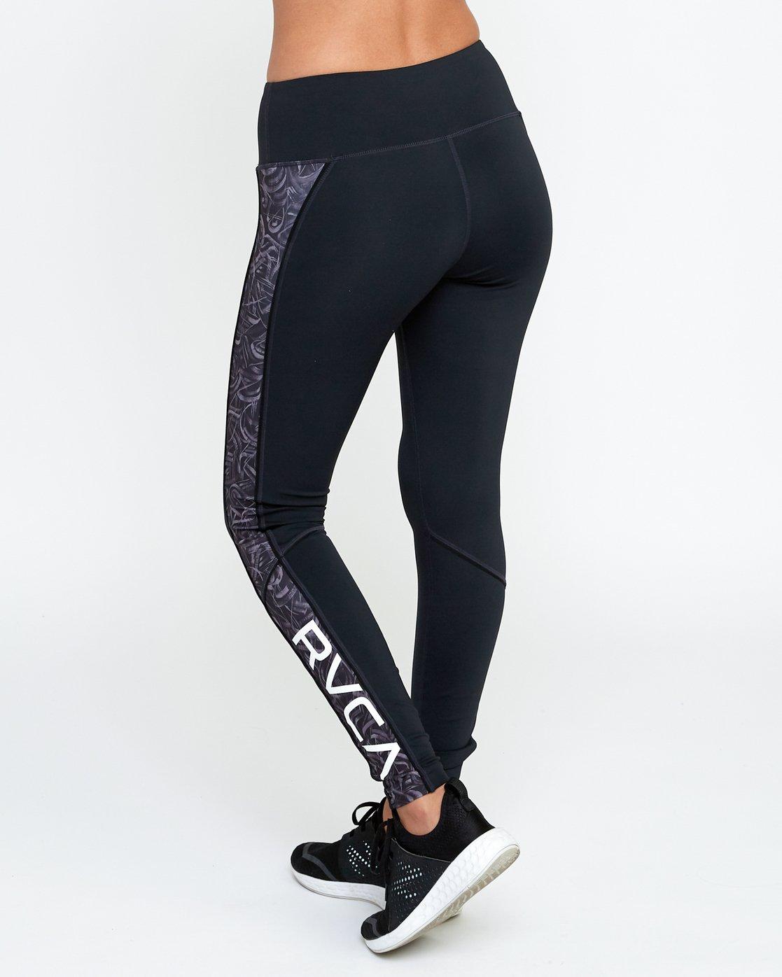 3 VA - Sports Legging for Women Grau N4PTWARVP9 RVCA