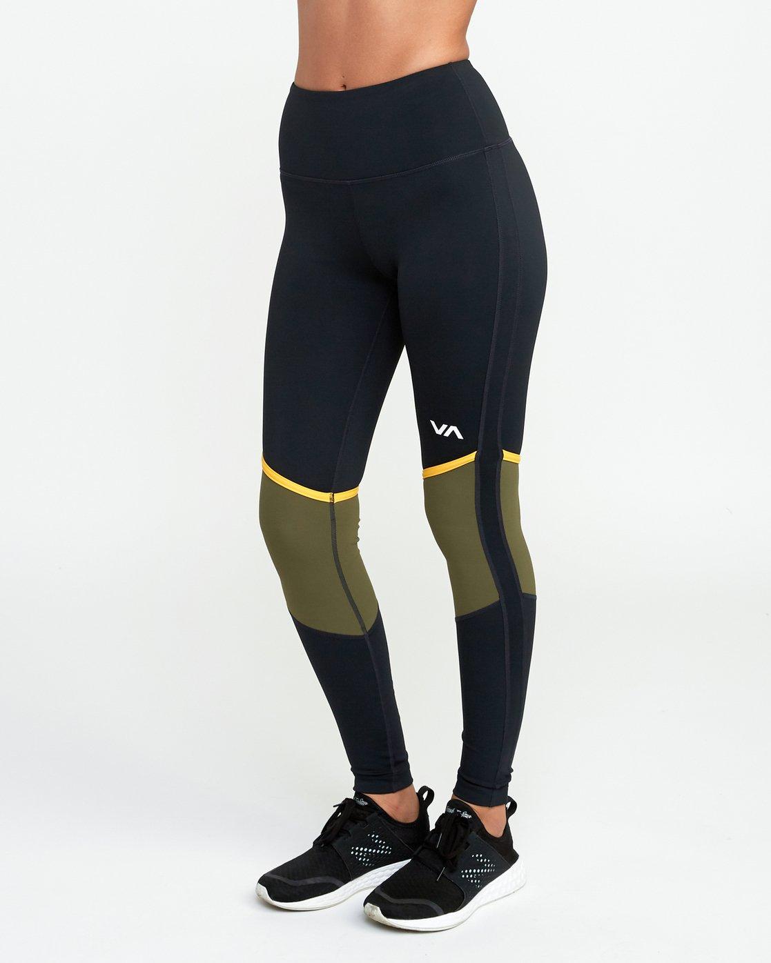 2 VA Levels - Sports Legging for Women Green N4PTWBRVP9 RVCA