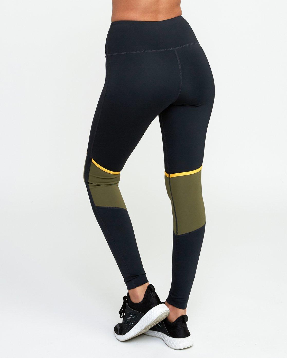3 VA Levels - Sports Legging for Women Green N4PTWBRVP9 RVCA