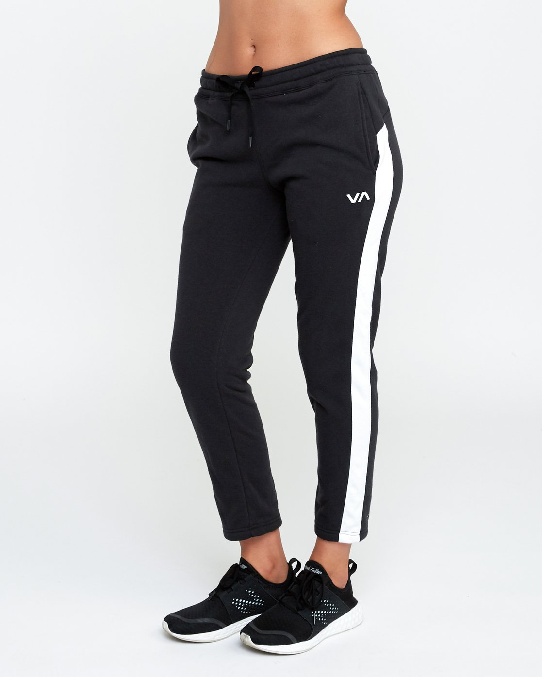 2 Tycho Fleece - Sports Jogger for Women Black N4PTWERVP9 RVCA