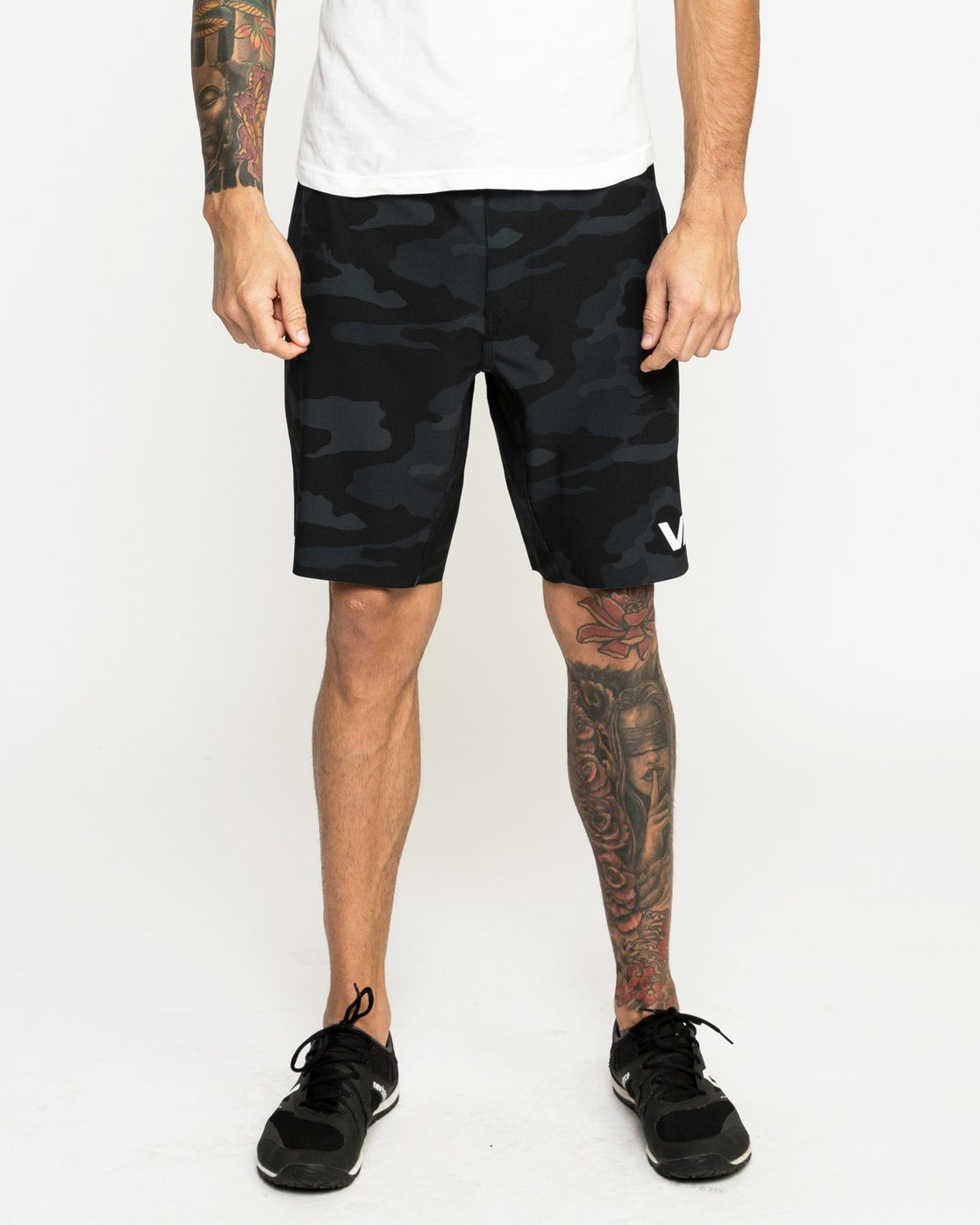 1 Train Short 19In Camo N4WKMCRVP9 RVCA