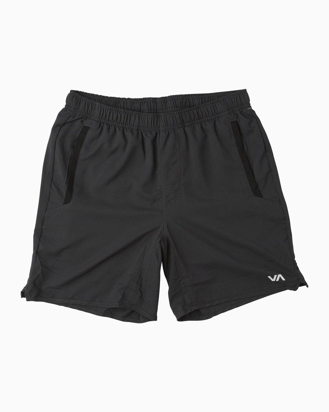 0 Yogger III - Sports Short for Men Black N4WKMGRVP9 RVCA