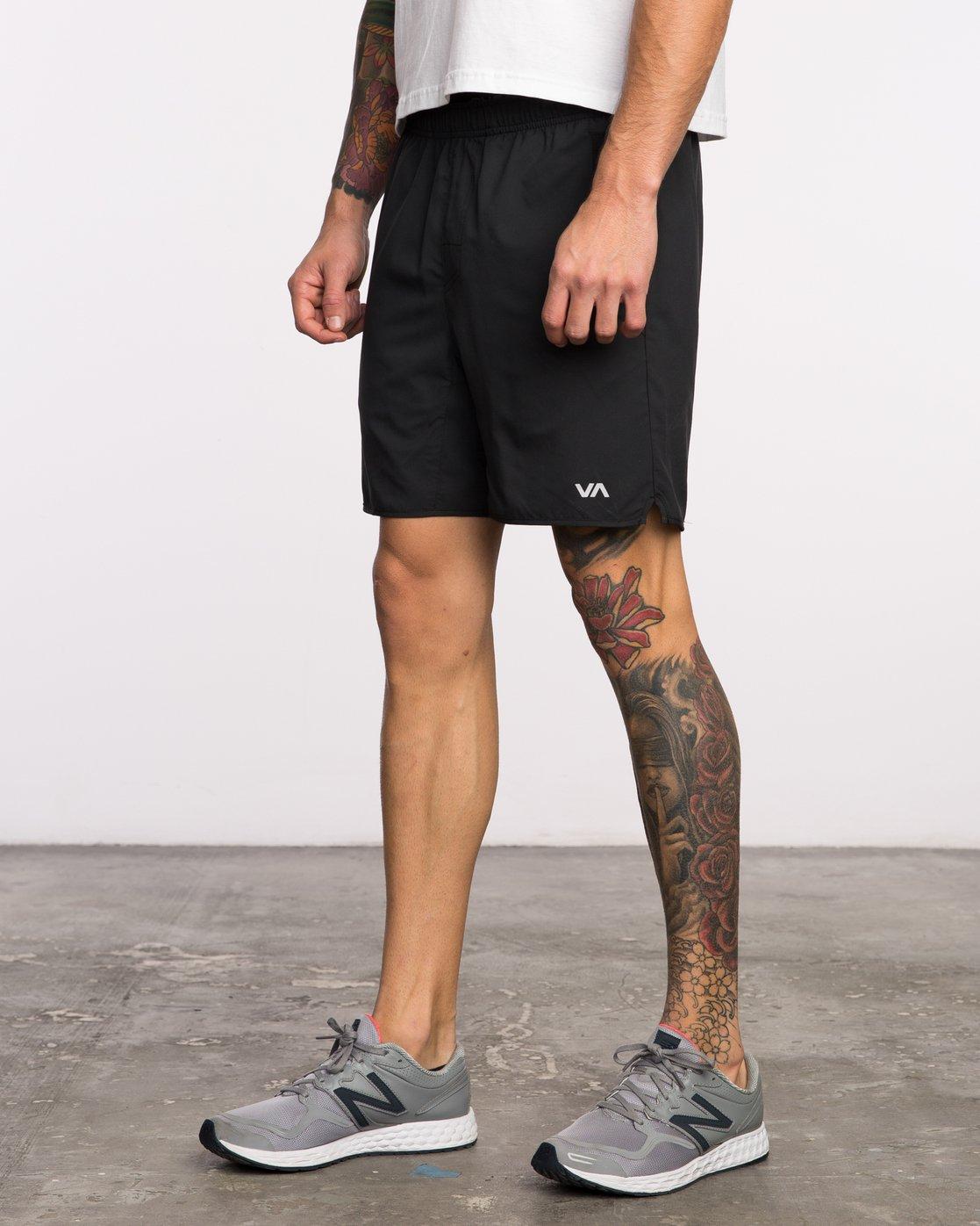 2 Yogger III - Sports Short for Men Black N4WKMGRVP9 RVCA