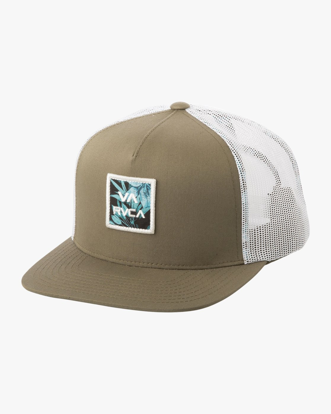0 Va All The Way Printed Trucker Hat Brown N5CPRERVP9 RVCA