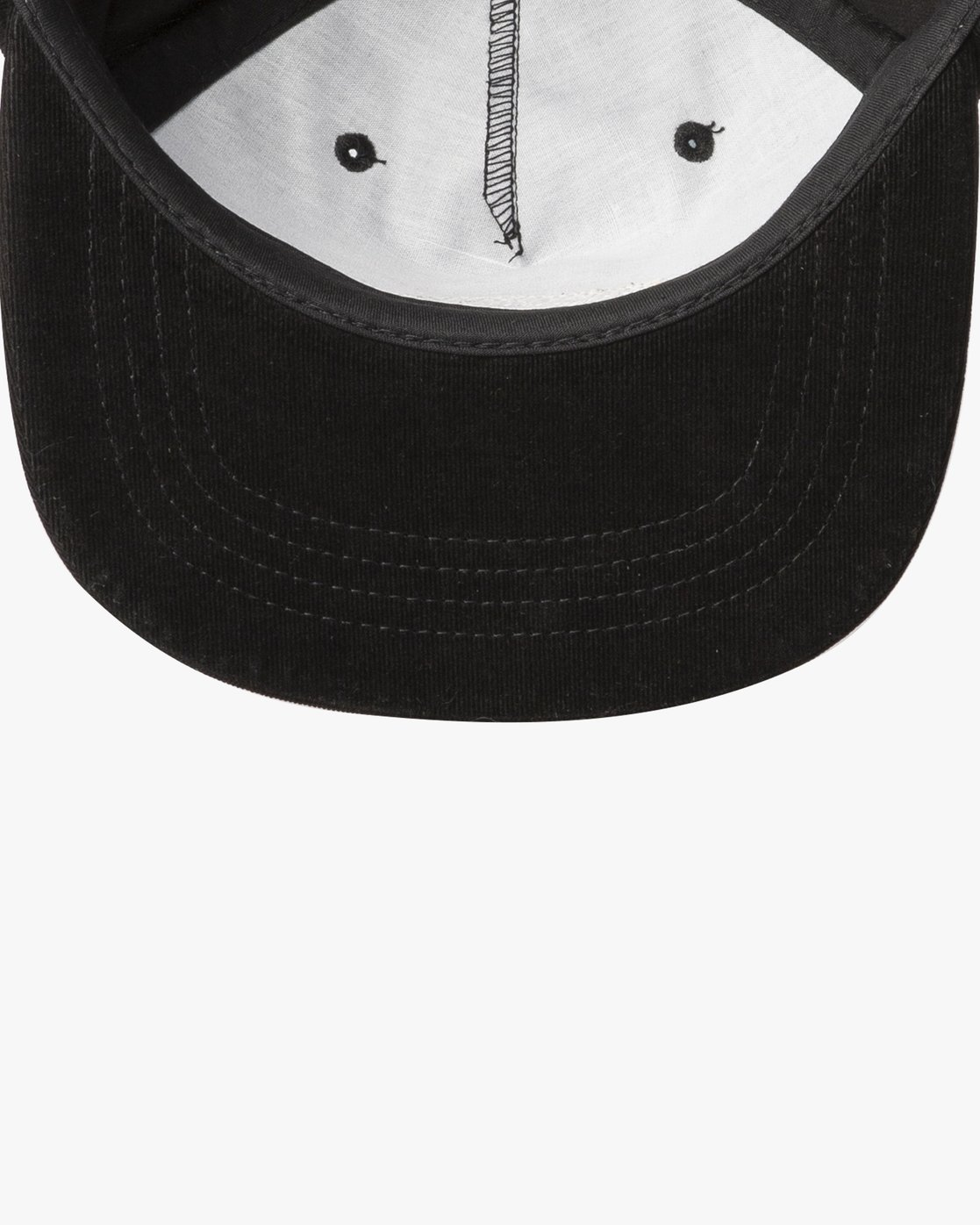 2 Everett Snapback Cap Black N5CPRHRVP9 RVCA