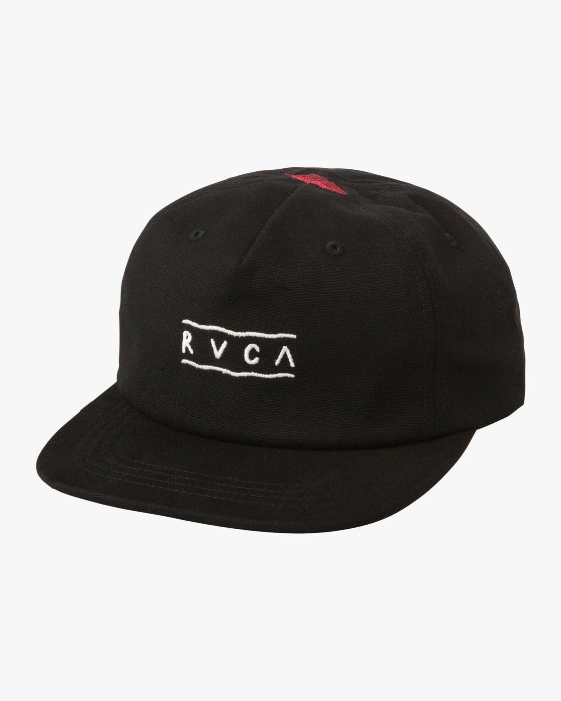 0 Gerrard Snapback Cap  N5CPRIRVP9 RVCA