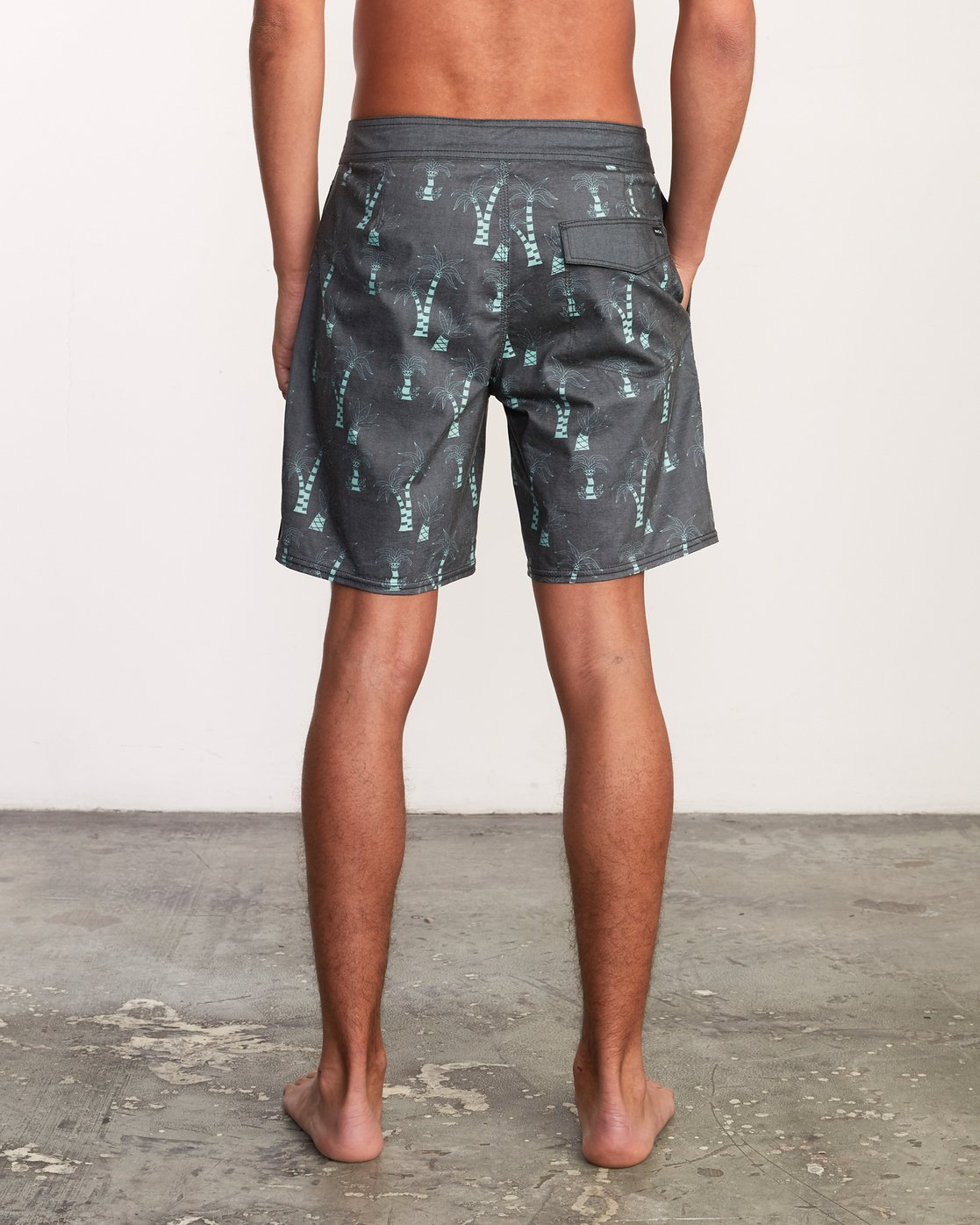 3 Kristen Liu Wong Palms Trunk - Boardshorts for Men  P1BSRDRVS9 RVCA