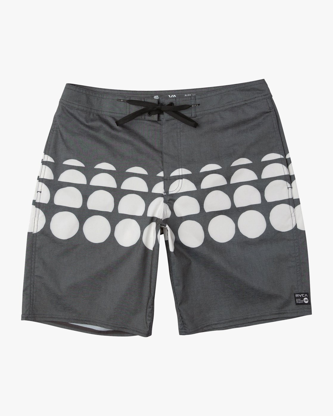 0 Whitehead Dots Trunk Black P1BSRERVS9 RVCA