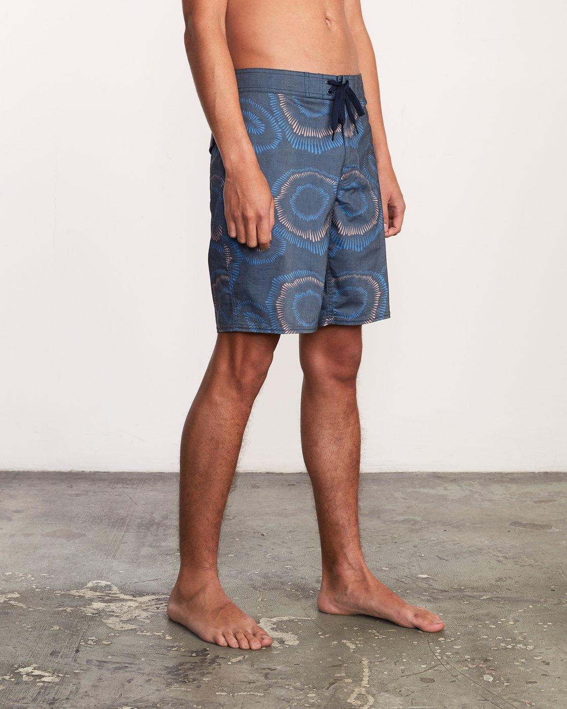 6 Trent Whitehead Flicker Trunk - Boardshorts for Men Blue P1BSRFRVS9 RVCA