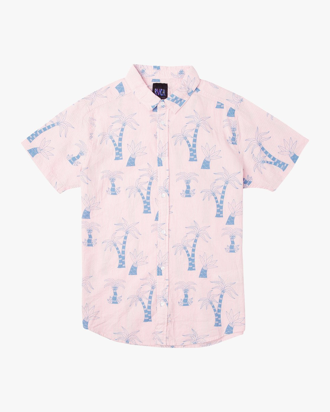 0 Kristen Liu Wong Palms - Shirt for Men Rosa P1SHRERVS9 RVCA
