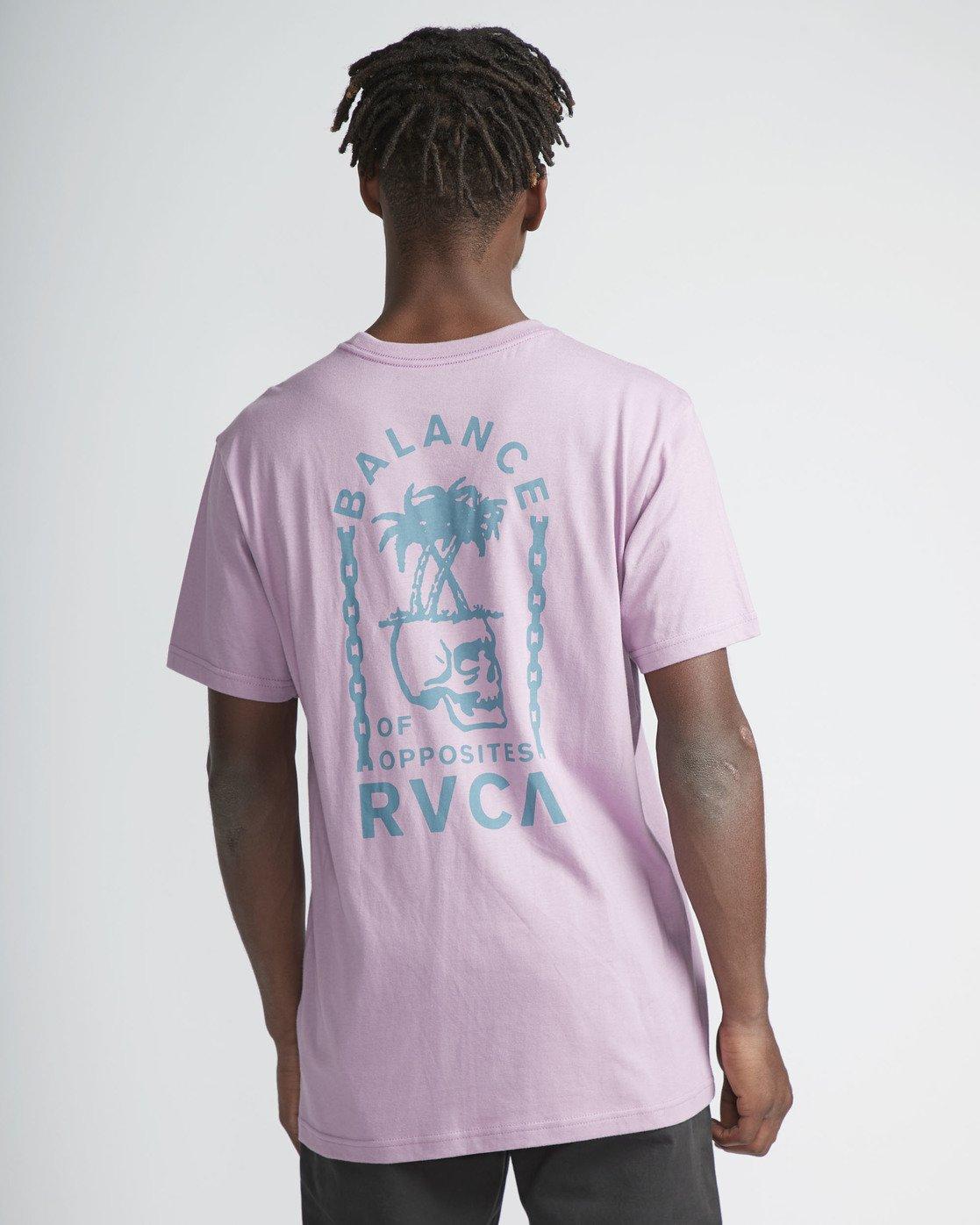 3 Bad Palms - T-Shirt for Men Purple P1SSRDRVS9 RVCA