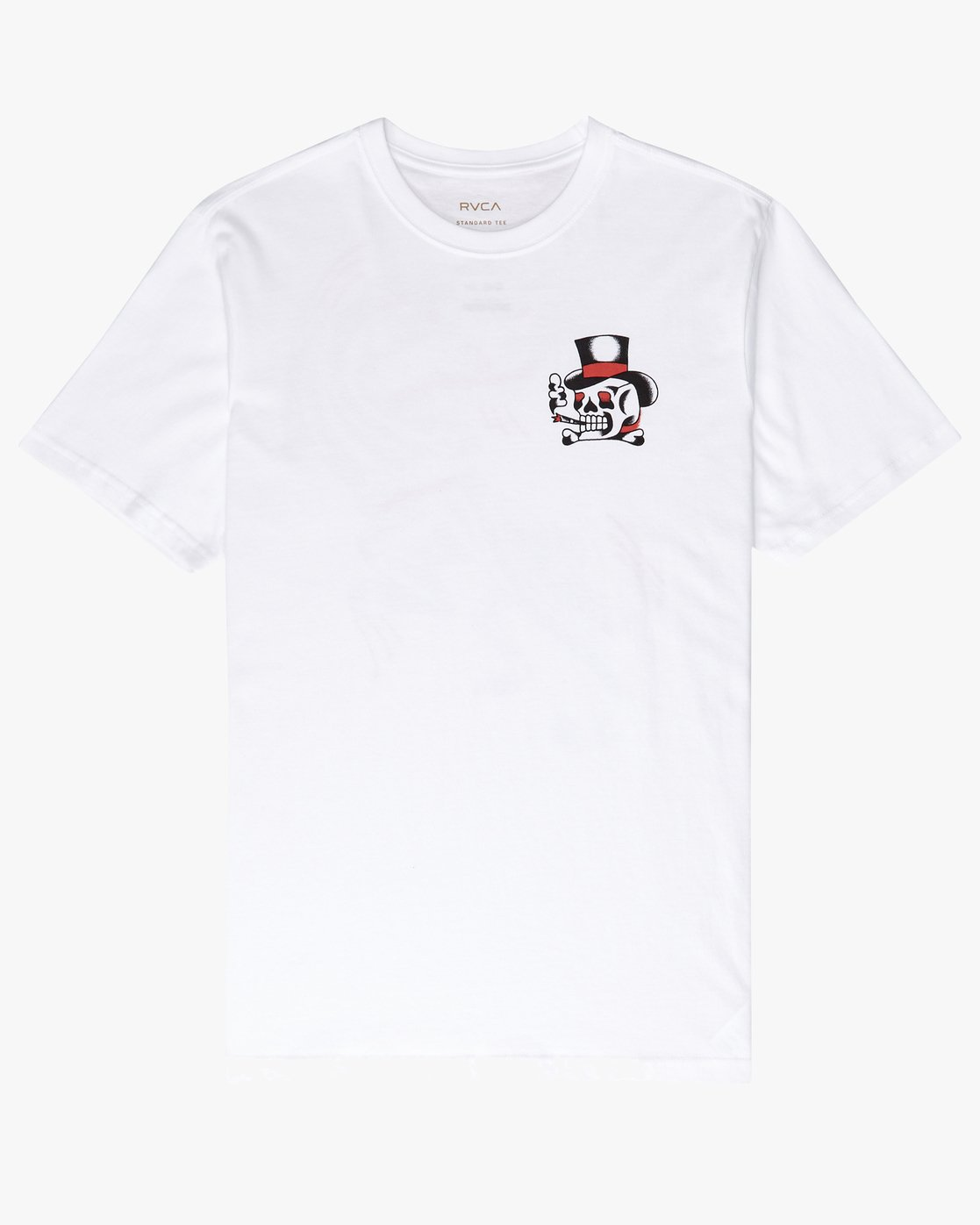 1 Pick Your Battles T-Shirt White P1SSRFRVS9 RVCA