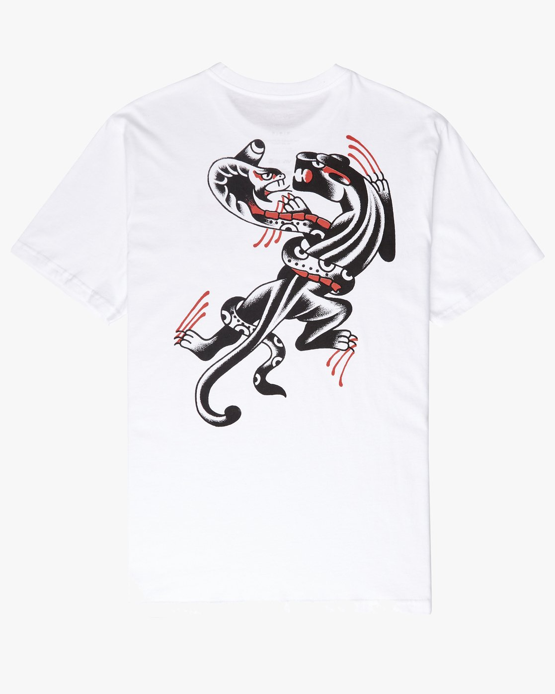 0 Pick Your Battles T-Shirt White P1SSRFRVS9 RVCA