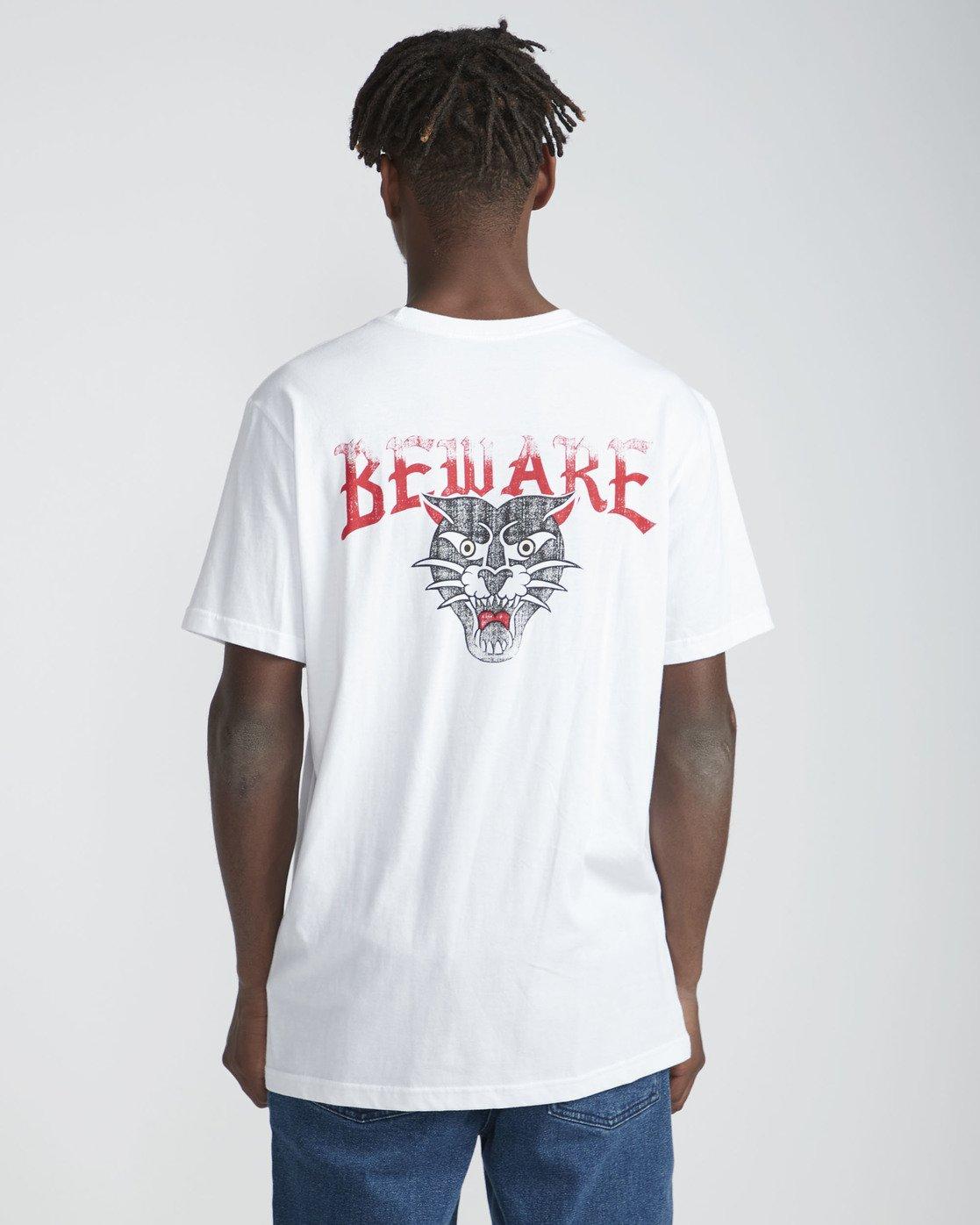 1 Bert Krak Beware - T-Shirt for Men Weiss P1SSRHRVS9 RVCA