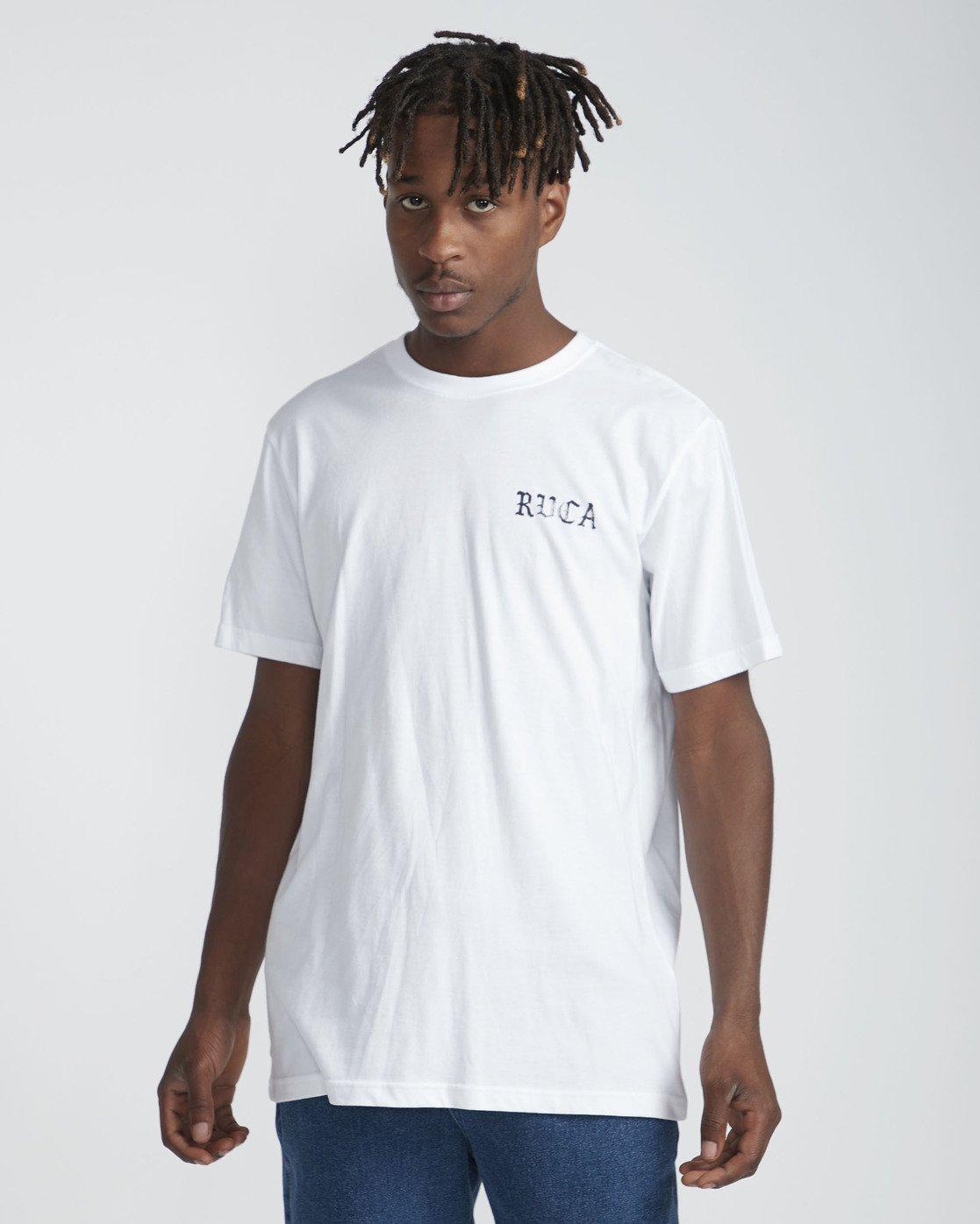 0 Bert Krak Beware - T-Shirt for Men Weiss P1SSRHRVS9 RVCA